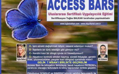 Access Bars Uygulayıcılık Eğitimi – İzmir 7 Nisan 2018